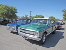 Klassiska Chevrolet lastbilar Royaltyfria Bilder