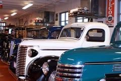 Klassiska Chevy lastbilar Arkivbilder
