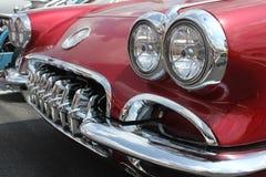 klassiska corvette royaltyfria bilder
