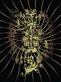 klassiska designelement Royaltyfri Bild