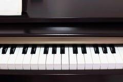 Klassiska elektriska pianon Arkivbild