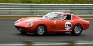 klassiska ferrari för bil tävlings- sportar Arkivbild