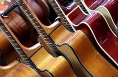 Klassiska gitarrer Royaltyfri Foto