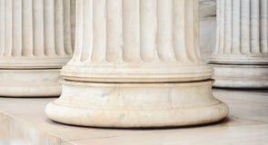 Klassiska kolonner Arkivbild
