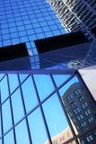 klassiska manhattan nya skyskrapor york Royaltyfri Fotografi