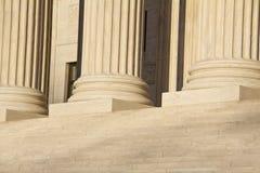 Klassiska marmorkolonner Fotografering för Bildbyråer