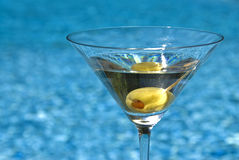 klassiska martini Royaltyfria Foton