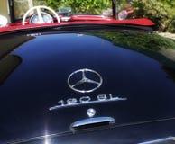 Klassiska Mercedes Benz 190 SL Arkivbilder