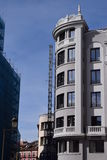 Klassiska och eleganta byggnader Arkivfoto