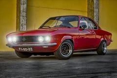 Klassiska Opel Manta Fotografering för Bildbyråer
