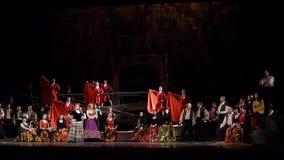 Klassiska operaspårvagnsförare arkivfilmer