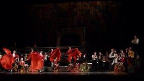 Klassiska operaspårvagnsförare lager videofilmer