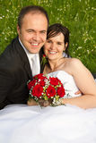 klassiska par gifta sig nytt Fotografering för Bildbyråer