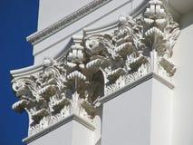klassiska pelare Fotografering för Bildbyråer