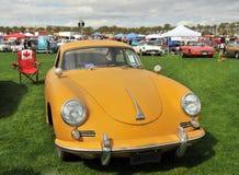 Klassiska Porche Coupe Arkivbilder