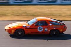 Klassiska Porsche 928 Royaltyfria Bilder