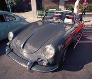 Klassiska Porsche 911 på en bilshow fotografering för bildbyråer