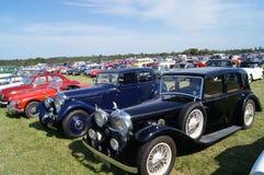 Klassiska sportbilar Arkivbild