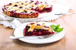 Klassiska sura Cherry Pie Arkivbilder
