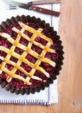 Klassiska sura Cherry Pie Royaltyfria Foton