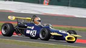 Klassiska tävlings- bil för formel 3 Royaltyfri Bild