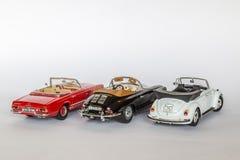 Klassiska tyska bilar Arkivfoto