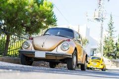 Klassiska Volkswagen Beetle Royaltyfri Bild