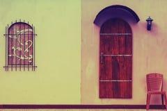 Klassiska Wood fönster Royaltyfri Fotografi