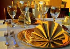 Klassiskt äta middag Royaltyfri Fotografi