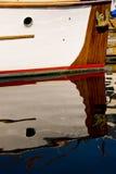 klassiskt anslutat trä för fartyg arkivfoton