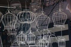klassiskt dekorativt för fågelbur Royaltyfria Bilder