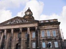 Klassiskt designstadshus i Lancaster England royaltyfria foton