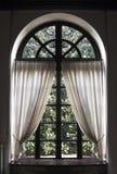 klassiskt fönster Arkivbild
