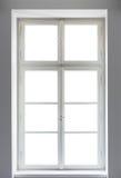 klassiskt fönster royaltyfria bilder