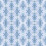 Klassiskt figurerat vägg-papper för tappning, blått stock illustrationer
