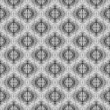 Klassiskt figurerat vägg-papper för tappning, grå färg 2 vektor illustrationer
