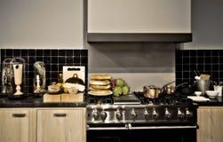 klassiskt kök arkivbilder