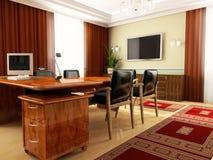 klassiskt kontor Royaltyfri Fotografi