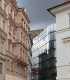 klassiskt modernt för arkitektur Fotografering för Bildbyråer