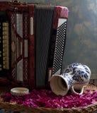 klassiskt musikinstrument arkivbild