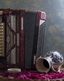 klassiskt musikinstrument arkivfoton