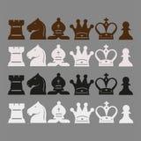 Klassiskt schack Fotografering för Bildbyråer