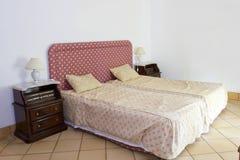 klassiskt sovrum Arkivfoto