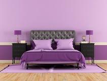 Klassiskt sovrum Fotografering för Bildbyråer