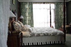 klassiskt stilfullt för sovrum royaltyfri bild