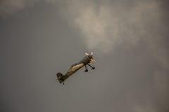 Klassiskt tappningflygplan royaltyfri bild