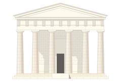 klassiskt tempel Arkivbilder