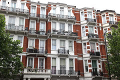 Klassiskt victorianhus i London Royaltyfri Foto