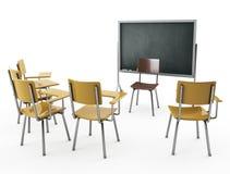 klassrum Arkivbild