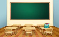 klassrum stock illustrationer